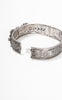 SOLD -- 1920s Art Deco Rhodium Filigree Bracelet with Rhinestones