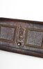 1930s Amity Arts & Crafts Embossed Leather Envelope Clutch