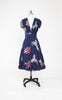 LAST ONE! Trashy Diva Crimson Clover 1940s Dress -- Size 2