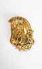 Very Rare 1942 Coro Craft Sterling Silver and Rhinestone Horse Fur Clip