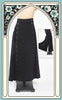 SOLD -- Very Rare 1890s Victorian Divided Riding Habit Skirt
