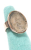 1840s Victorian 10k Gold French Intaglio Wax Seal Ring
