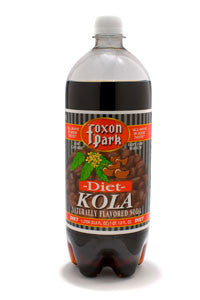 Diet Kola Soda, 1 Liter (Case of 12)