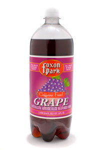 Grape Soda, 1 Liter Bottle (Case of 12)