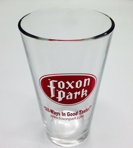 Foxon Park Pint glass