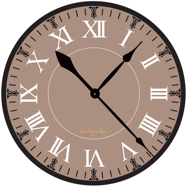 Desert Sands Wall Clock - James Frederick Floyd
