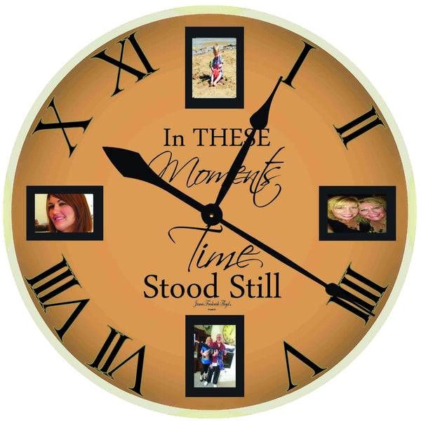 In These Moments Time Stands Still Wall Clock - James Frederick Floyd