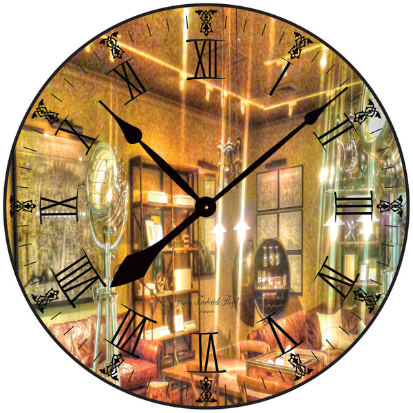 Hollywood Ready, Action and Cut Wall Clock - James Frederick Floyd