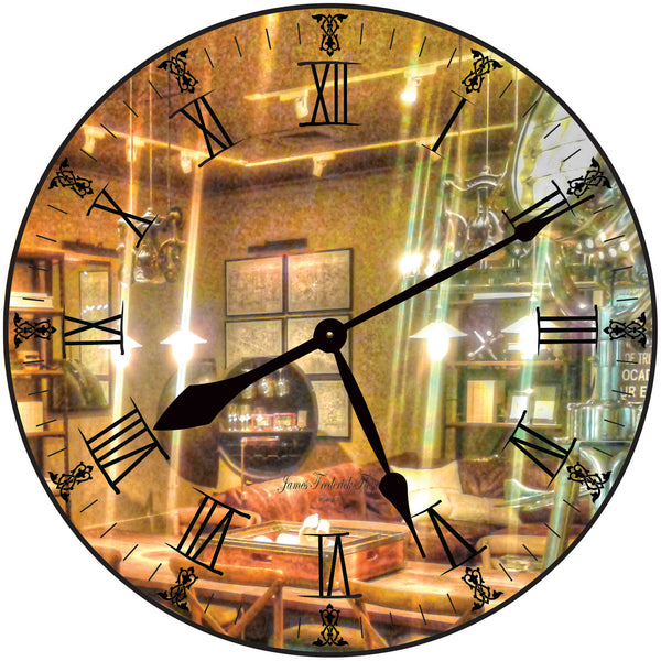 Hollywood Movie Set Wall Clock - James Frederick Floyd