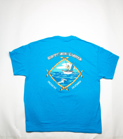 GOB fishing T-shirt w/ hammerhead!