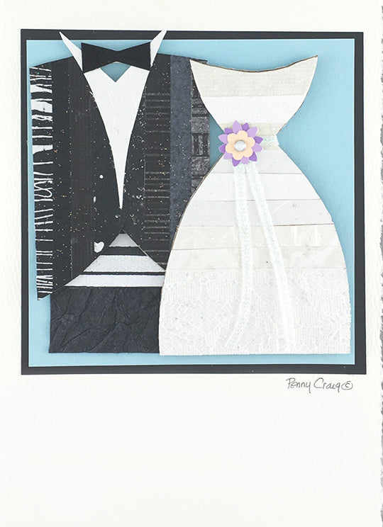 Tux & Gown – Constance Kay Art Card Store