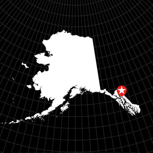 Digital Vector Map of Alaska
