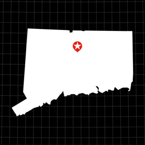 Digital Vector Map of Connecticut