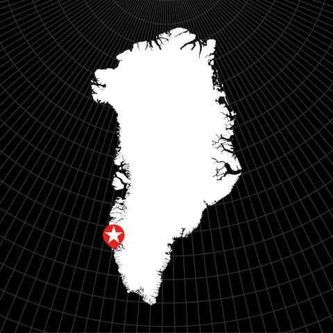 Digital Vector Map of Greenland