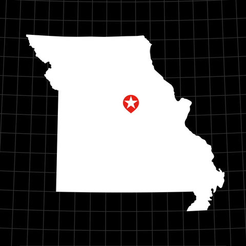 Digital Vector Map of Missouri