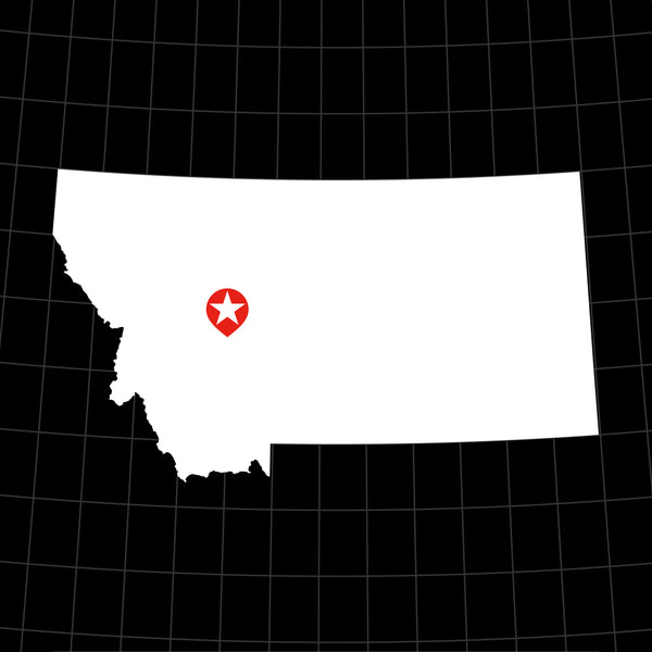 Digital Vector Map of Montana