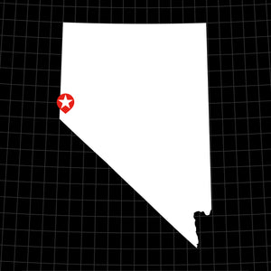 Digital Vector Map of Nevada