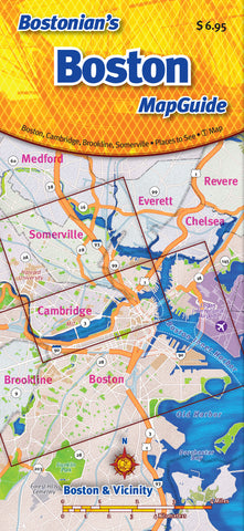 Cover image of Bostonian's Boston MapGuide