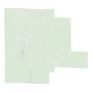 Royalty-free, digital vector street map of Fayette County, Alabama.
