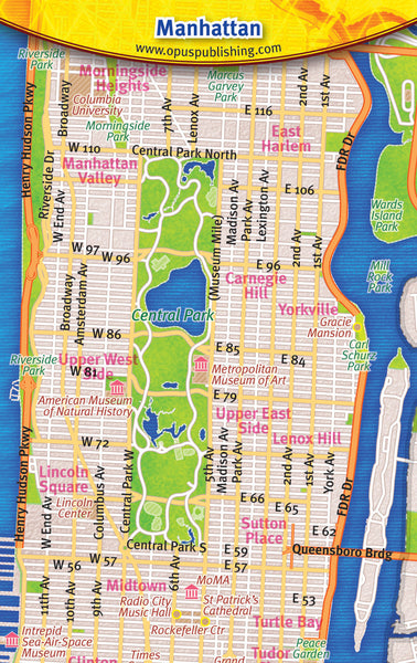 Cover image of Manhattan Credit Card Map