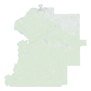 Royalty-free, digital vector street map of Marengo County, Alabama.
