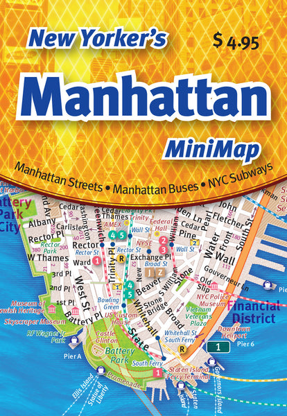 Cover image of New Yorker's Manhattan MiniMap