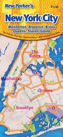 Cover image of New Yorker's New York City: Manhattan, Brooklyn, Bronx, Queens, Staten Island