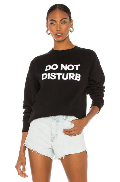 Do Not Disturb Unisex Crew Neck Sweatshirt