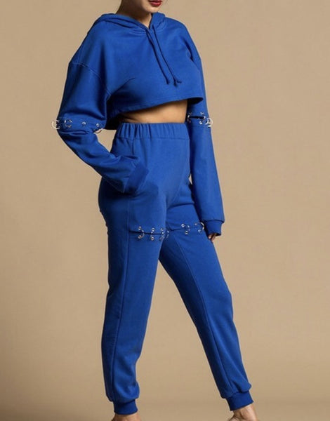 Brooklyn Detachable Two Piece Sweatsuit (TOP ONLY)