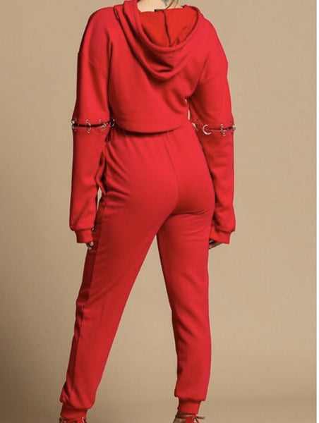 Brooklyn Detachable Two Piece Sweatsuit (BOTTOM ONLY)