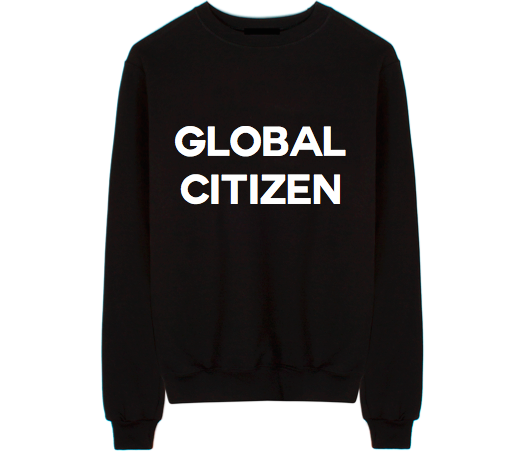 Global Citizen Unisex Crew Neck Sweatshirt