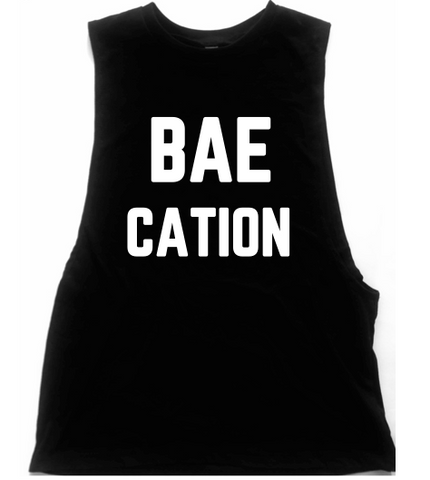 Baecation Unisex Low Armhole Muscle Tank