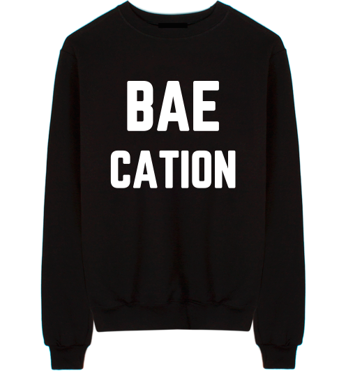 Baecation Unisex Crew Neck Sweatshirt