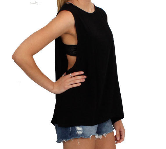 Jet Lagged Unisex Low Armhole Muscle Tank