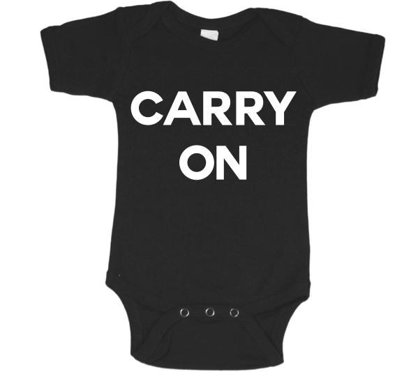 Carry On Baby Onesie