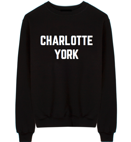 "Sex and the City ""Charlotte York"" Unisex Crew Neck Sweatshirt"