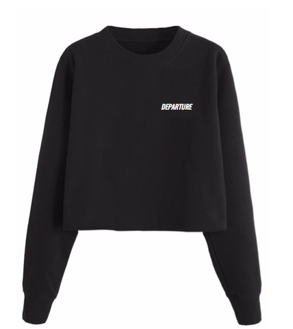 Departure Cropped Sweatshirt