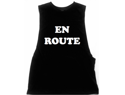 En Route Unisex Low Armhole Muscle Tank