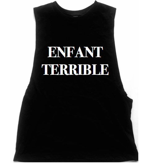 Enfant Terrible Unisex Low Armhole Muscle Tank