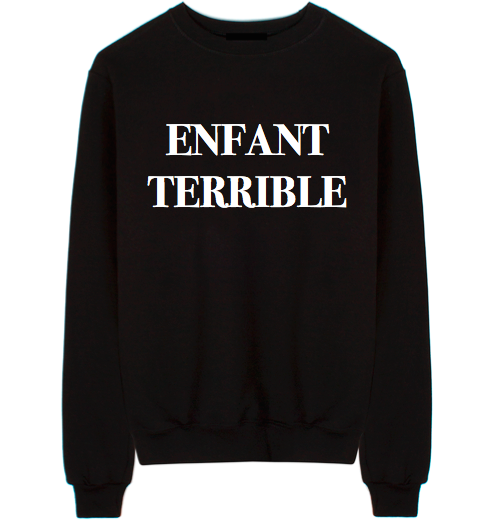 Enfant Terrible Unisex Crew Neck Sweatshirt
