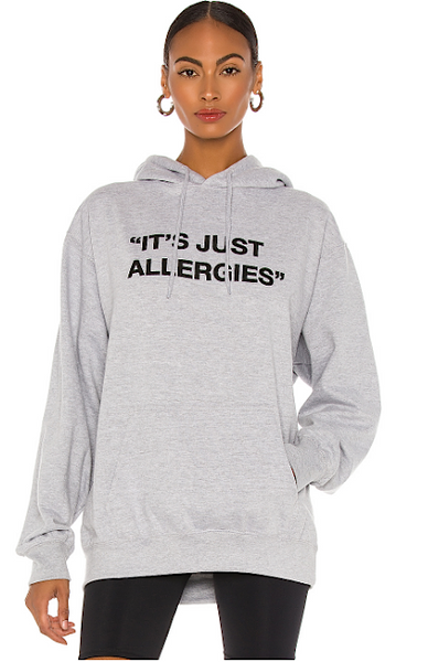 Just Allergies Oversized Hoodie