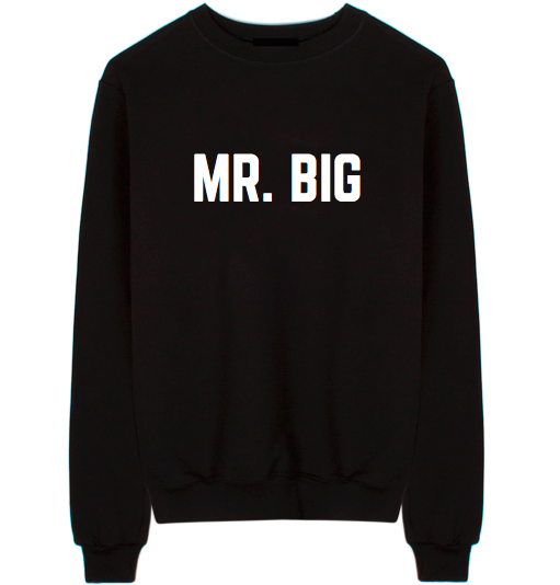 Sex And The City Mr. Big Unisex Crew Neck Sweatshirt
