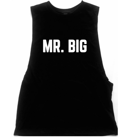 "Sex And The City ""Mr. Big"" Unisex Low Armhole Muscle Tank"