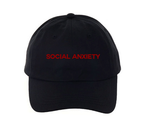 Social Anxiety Dad Hat