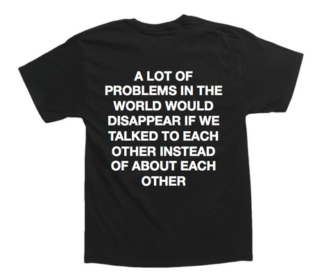 World Problems Oversized Tee