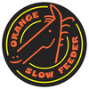 Orange Slow Feeder