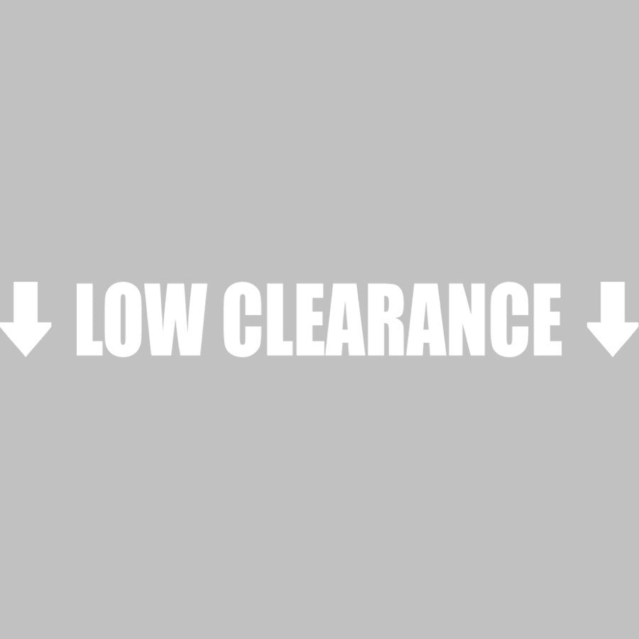 Low Clearance / Arrows