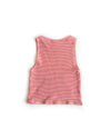 Pocket Tank Red Pin Stripe