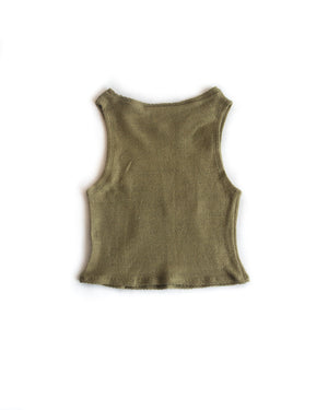 Pocket Tank Eucalyptus Green