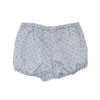 EXCLUSIVE TO US Bloomers Blue Dotted Linen